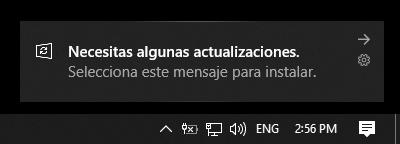 windows update - tienes algunas actualizaciones