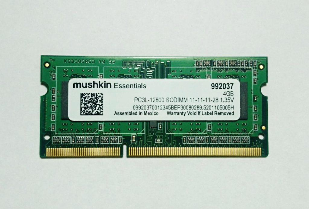 Mushkin-Essentials-4GB-PC3L-12800-DDR3L-RAM-Version-8-chips